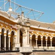 Plaza de toros de la Real Maestranza in Seville — Stock Photo