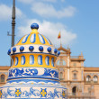 Detail of Plaza De Espana in Seville - Stock Photo