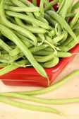 Zelené fazolky — Stock fotografie