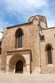 Valencia Cathedral and Almoina Square — Stock Photo