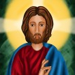Jesus Christ the risen Lord — Stock Photo