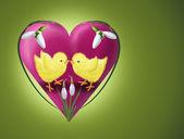 Påsk kärlek — Stockfoto