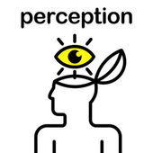 Perception icon — Stock Vector