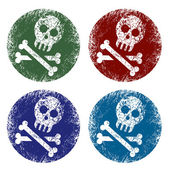 Jolly roger signs — Stock Vector