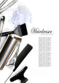 Hairdresser Accessories — Stock Photo