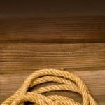 Naval rope — Stock Photo #8076318