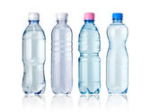 Bottles of water — Stockfoto
