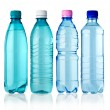 4 bottles — Stock Photo