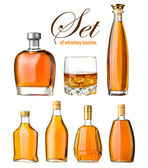 Set of whiskey — Stock Photo