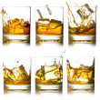Glass of scotch — Stock Photo