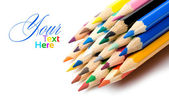 Colorful pencils — Stok fotoğraf