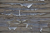 Flaking painted wood panel — Stock Photo
