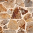 Brown stone wall — Stock Photo #9790895