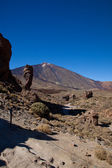 Mt Teide from southern side — Stock Photo