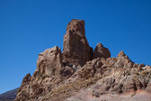 Mt Teide rocky outcrops — Stock Photo