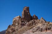 Mt Teide rocky outcrops — Stock Photo