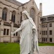 Marble statue of Jesus — Stock Photo #9838051