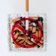 Stock Photo: Quitting Smoking