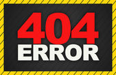 404 Error Background — Stock Photo
