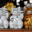 Wooden Cats — Stock Photo #10261595