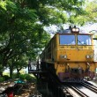 The Train on the River Kwai, Thailand - Stock Photo