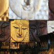 Thai Art & Souvenir in Thailand - Stock Photo