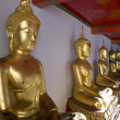 Golden Buddha, Thailand - Stock Photo