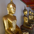 Golden Buddha - Stock Photo