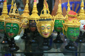 Khon Masks, Thailand — Stock Photo