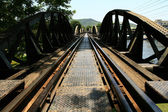 η γέφυρα του ποταμού κβάι, ταϊλάνδη — Φωτογραφία Αρχείου