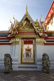 Porta al tempio di wat pho — Foto Stock
