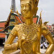 Statue in Grand Palace at Bangkok — Stock Photo