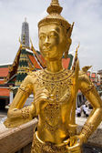 Statue in Grand Palace at Bangkok — Foto Stock