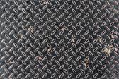 Grunge diamond metal background — Stock Photo