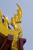 Roof of Wat Phra Keaw — Stock Photo