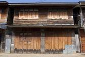 Vecchia casa in legno — Foto Stock