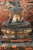 Buddha Ruins at Ayutthaya — Stock Photo