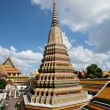 Authentic Thai Architecture in Wat Pho — Stock Photo #9614065