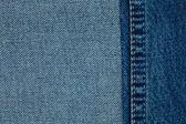 Blue jeans cloth — Stock Photo