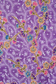Batik design in Thailand — Stock Photo