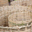 The art of bamboo wicker — Stock Photo