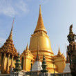 Golden Pagoda, Thailand — Stock Photo