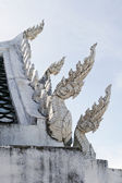 Roof of Thai Temple — Стоковое фото