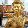 Golden Angle at Golden Palace, Bangkok — Stock Photo