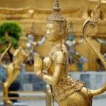 Golden Angle at Golden Palace, Bangkok — Stock Photo