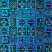 Pattern dark blue — Stock Photo