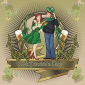 St. Patrick day — Stock Vector