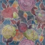 Patrón de diseño floral — Foto de Stock