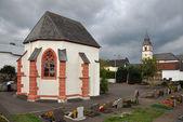 Graveyard chapel of Duppach — Stock Photo