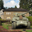 Sherman Tank in Vielsalm — Stock Photo